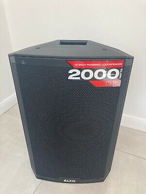 Alto TS315 15 inch 2000W Active Powered PA DJ Loudspeaker with soft case