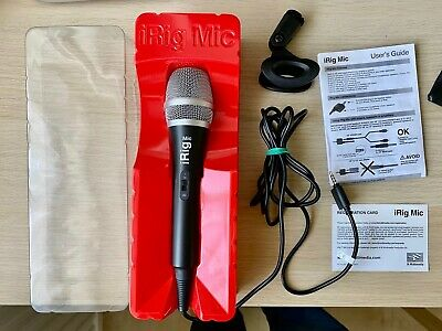 iRig Mic - Microphone for iPhone, iPod Touch & iPad with Carry Case