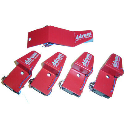 Ddrum RSKIT 5-Piece Red Shot Acoustic Drum Trigger Set • 72.12£