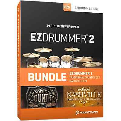 Toontrack EZDrummer 2 Country Edition (Serial Download) • 159£