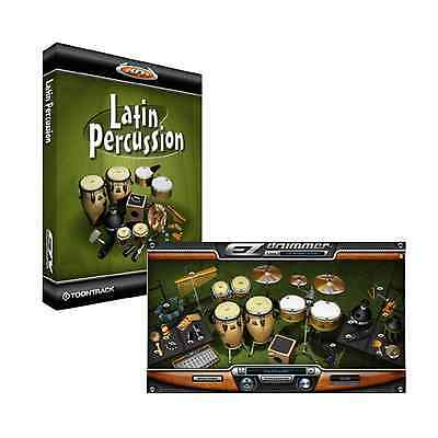 Toontrack Latin Percussion - EZdrummer 2 Expansion (Serial Download) • 59£