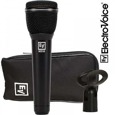 Electro-Voice ND96 Dynamic Supercardioid Loud Stage Vocal Microphone EV ND-96 • 179.99£