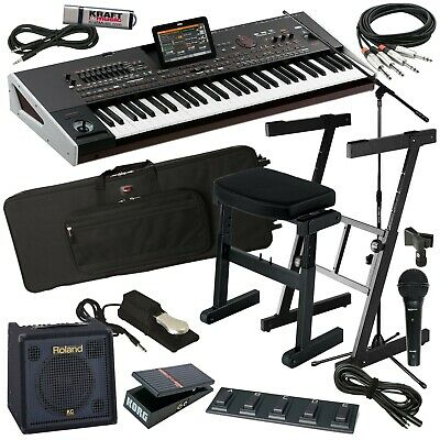 Korg Pa4X ORIENTAL 61-Key Arranger Keyboard COMPLETE STAGE BUNDLE • 3,654.12£
