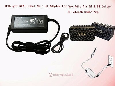 19V AC Adapter For Vox Adio Air GT & BS Guitar Bluetooth Combo Amp Power Charger • 17.74£