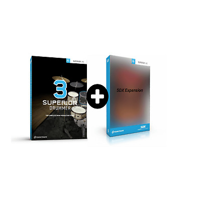 ToonTrack Superior Drummer 3 + SDX Expansion Pack Of Choice (Serial Download) • 399£