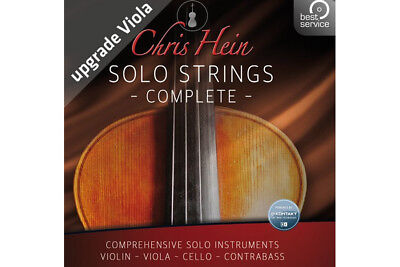 Best Service Chris Hein Solo Strings Complete Upgrade From Viola • 346.44£