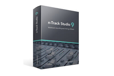 N-Track Studio 9 Suite Dawmixing Recording Software Download • 162.55£