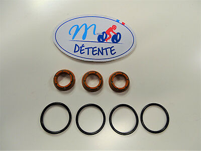 Gaskets Valves With'exhaust Yamaha 250 Tdr 240 Tdr 3cl 3ck 1988-1991 • 44.70£