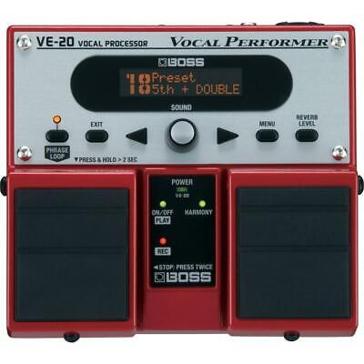 Boss VE-20 Vocal Performer Voice Effects Processor Pedal • 221.69£