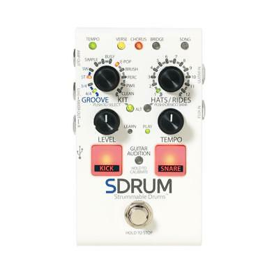 Digitech SDrum Pedal - Intelligent Drum Machine - Strummable Drums Pedal For Gui • 106.91£