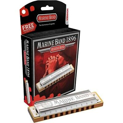 Hohner Marine Band 1896 -Classic! - Key Choice - Hohner USA Dealer W/Warranty • 34£