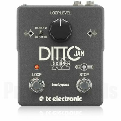 TC Electronic Ditto Jam X2 Looper *NEW* T.c. X 2 Electronics Pedal Flashback X4 • 131.09£
