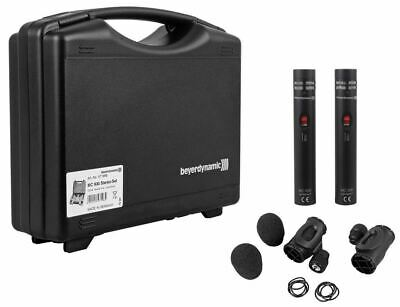 (2) Beyerdynamic MC930 Condenser Microphones For Stereo Live Sound Installations • 787.11£
