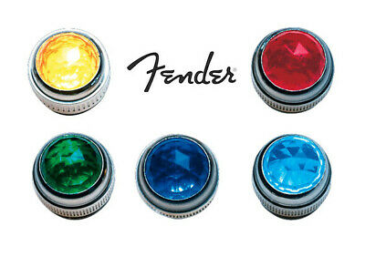 Genuine Fender USA Pure Vintage Amplifier Jewel For Bulb Lamp Choice Of Colours! • 10.95£