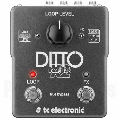 TC Electronic Ditto X2 Looper *NEW* T.c. X 2 Electronics Pedal Flashback X4 • 141.31£