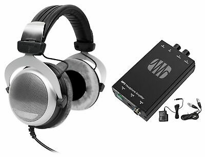 Beyerdynamic DT 880 Premium 600 Ohm Hifi Headphones+Presonus HP2 Headphone Amp • 224.54£