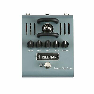 Friedman Amplification Motor City Drive - 12AX7 Tube Powered Overdrive Electric  • 182.85£
