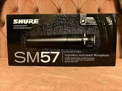 Shure SM57-LC Dynamic Microphone - New, In Box • 73.43£