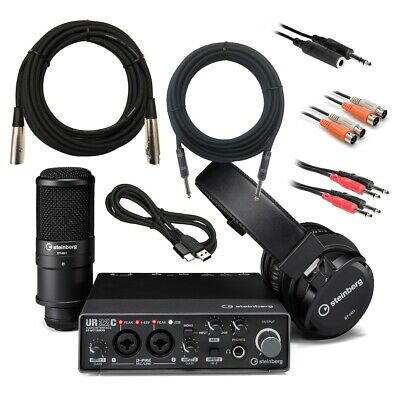 Steinberg UR22C Recording Pack CABLE KIT • 256£