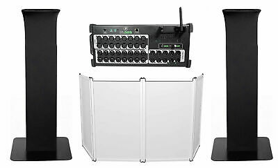 Mackie DL32S 32-Channel Wireless Digital Wi-Fi Mixer W/DSP+Facade+Totem Stands • 1,161.75£