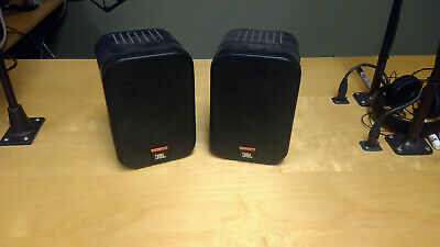 JBL Control One Speakers 50-200W 100RMS. USED - GOOD CONDITION (1 Pair) • 50.19£