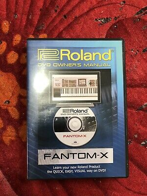 Roland Fantom X6 Dvd Manual • 14.50£