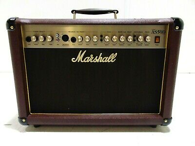 Marshall AS50D Acoustic Combo-DAMAGED-RRP £249 • 149£