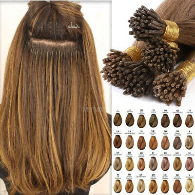 I Tip Stick 1g/s 100% Remy Human Hair Extensions Micro Nano Ring Balayage THICK • 37.29£