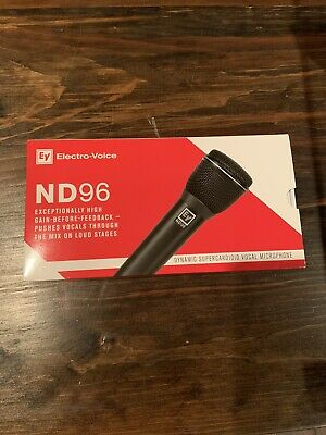 *Brand New* Electro-Voice ND96 Dynamic Supercardioid Vocal Microphone EV ND-96 • 145.44£