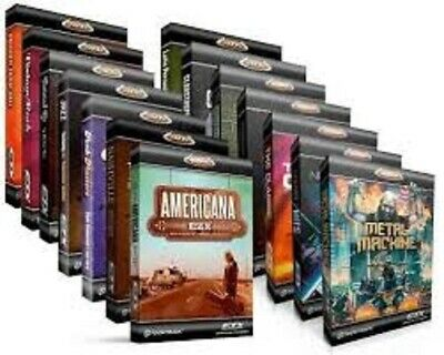 Toontrack EZ Drummer 2 MIDI Pack Collection   40+ Midi Packs Included • 50£