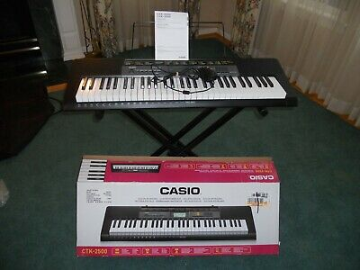 Casio CTK-2500 Portable Keyboard  • 113.36£
