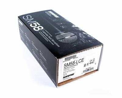 Shure SM58-LC Dynamic Legendary Vocal Microphone - Brand New In Box • 74.99£