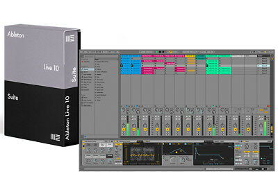 Ableton Live 10 Suite Upgrade From Live 10 Standard • 321.48£