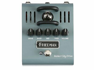 Friedman Motor City Drive 12AX7 Tube Overdrive Pedal • 215£