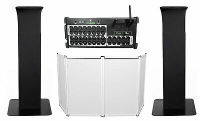 Mackie DL32S 32-Channel Wireless Digital Wi-Fi Mixer W/DSP+Facade+Totem Stands • 1,162.69£