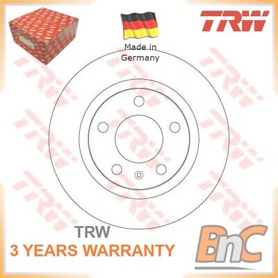 2x REAR BRAKE DISC SET OPEL VAUXHALL TRW OEM 93190227 DF6339 GENUINE HEAVY DUTY • 59.04£