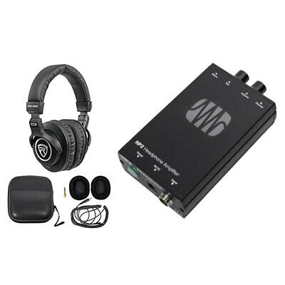 Presonus HP2 2 Channel Stereo Headphone Amplifier System HP-2+Free Headphones ! • 103.05£