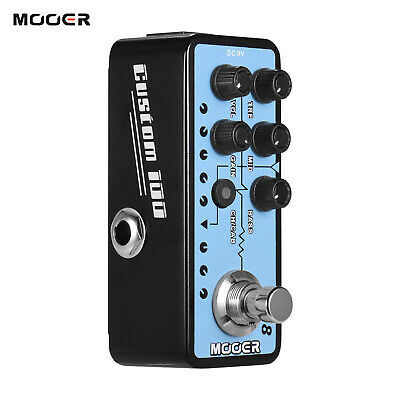 Mooer MICRO PREAMP Series 018 CUSTOM 100 Digital Preamp Preamplifier Guitar I1L8 • 75.56£
