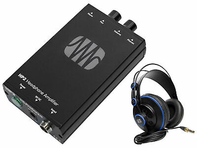 Presonus HP2 2 Ch. Stereo Headphone Amplifier System HP-2+HD7 Studio Headphones • 136.88£