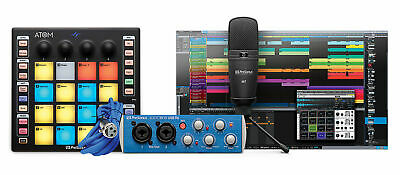 PRESONUS ATOM PRODUCER LAB Production Kit: Pad Controller+Interface+Mic+Software • 195.73£