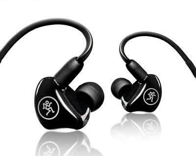 Mackie MP-240 Dual Hybrid Driver Professional In-Ear Monitors+Molded Carry Case • 159.62£