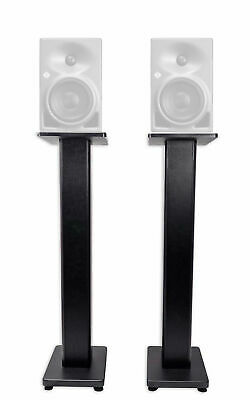 "(2) Rockville 36"" Studio Monitor Speaker Stands For Neumann KH 80 DSP • 63.77£"