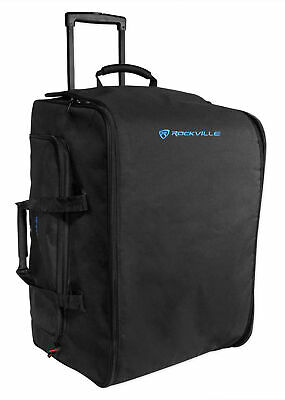 Rockville Rolling Travel Case Speaker Bag W/Handle+Wheels For Behringer B115W • 79.16£