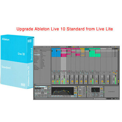 Ableton Live 10 Standard Upgrade From Live Lite • 304.35£