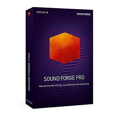 Magix Sound Forge 14 Pro - PC, Daw Software Download • 317.33£