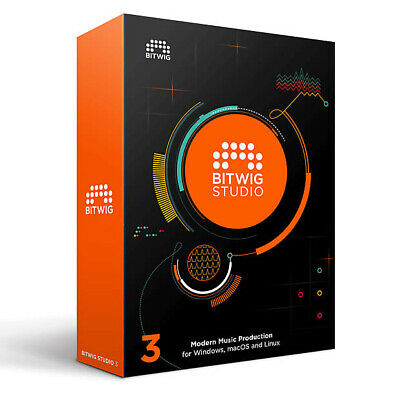 Bitwig Studio 3 Upgrade From Bitwig Studio Version 2, Modular Daw, Recording • 140.96£