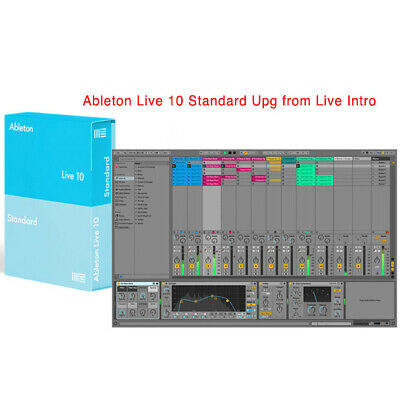Ableton Live 10 Standard Upgrade From Live Intro Software Download • 287.85£
