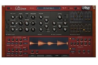 U-he Diva Software Synthesizer • 151.08£