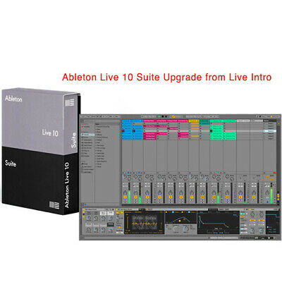 Ableton Live 10 Suite Upgrade From Live Intro • 505.57£
