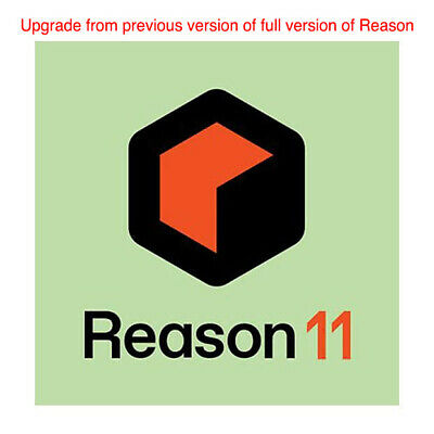 Reason Studios Reason 11 Upgrade From Any Previous Full Version, Download • 100.30£